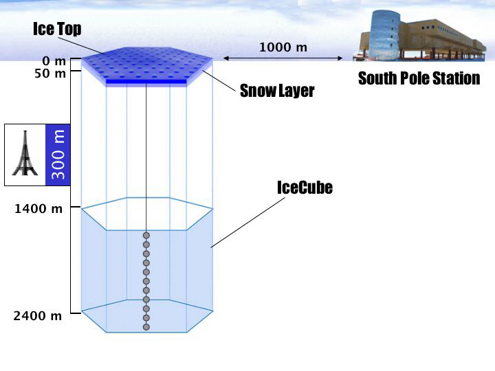 REU Web Site Presentation of IceCube